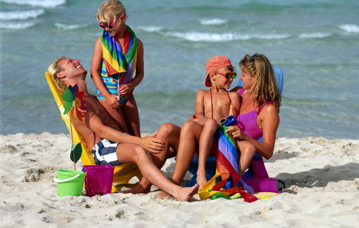 фото отдых с детьми на море 2