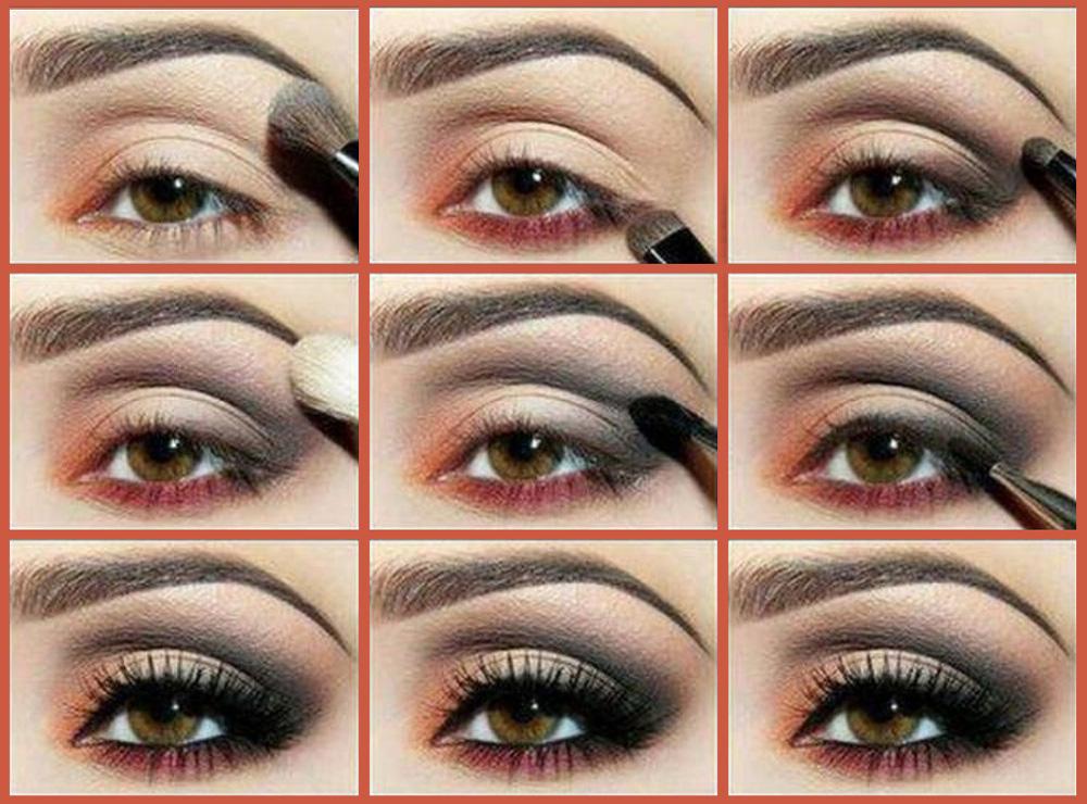Макияж глаз с фото рецепты